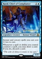 Promotional: Baral, Chief of Compliance (Prerelease Foil)
