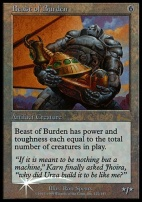 Promotional: Beast of Burden (Prerelease Foil)
