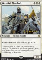 Promotional: Benalish Marshal (Prerelease Foil)
