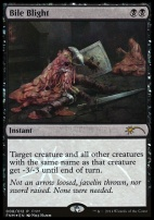 Promotional: Bile Blight (FNM Foil)