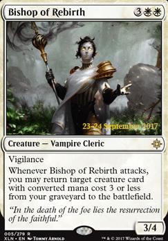 Promotional: Bishop of Rebirth (Prerelease Foil)