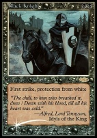 Promotional: Black Knight (FNM Foil)