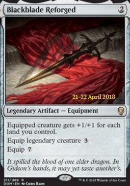 Promotional: Blackblade Reforged (Prerelease Foil)