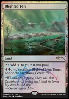 Promotional: Blighted Fen (FNM Foil)