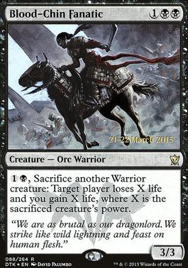 Promotional: Blood-Chin Fanatic (Prerelease Foil)