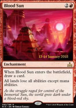 Promotional: Blood Sun (Prerelease Foil)