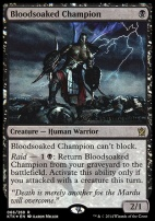 Promotional: Bloodsoaked Champion (Prerelease Foil)