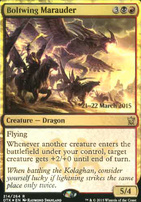 Promotional: Boltwing Marauder (Prerelease Foil)