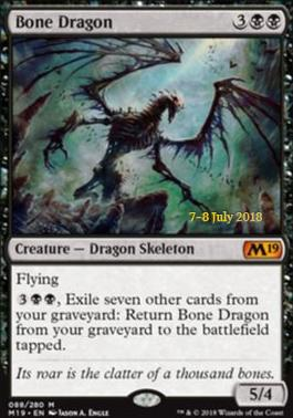 Promotional: Bone Dragon (Prerelease Foil)