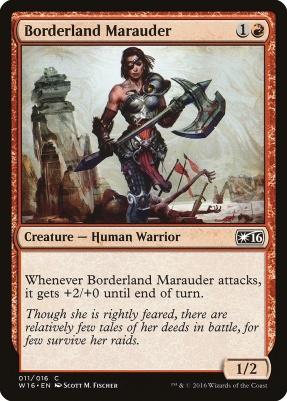 Promotional: Borderland Marauder (Welcome 2016)
