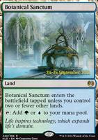 Promotional: Botanical Sanctum (Prerelease Foil)