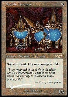 Promotional: Bottle Gnomes (FNM Foil)