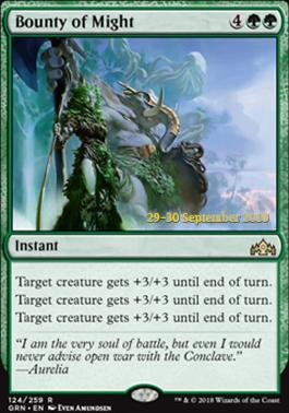 Promotional: Bounty of Might (Prerelease Foil)