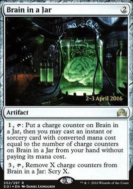 Promotional: Brain in a Jar (Prerelease Foil)