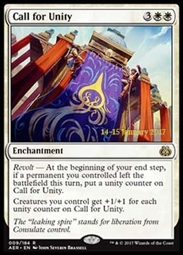 Promotional: Call for Unity (Prerelease Foil)