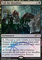 Promotional: Call the Bloodline (FNM Foil)