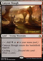 Promotional: Canyon Slough (Prerelease Foil)