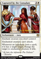 Promotional: Captured by the Consulate (Prerelease Foil)