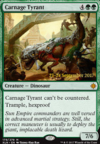 Promotional: Carnage Tyrant (Prerelease Foil)