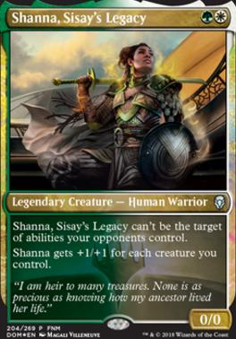 Promotional: Shanna, Sisay's Legacy (FNM Foil)