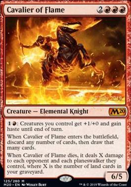 Promotional: Cavalier of Flame (Prerelease Foil)