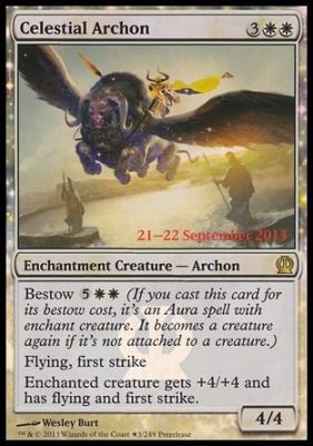 Promotional: Celestial Archon (Prerelease Foil)