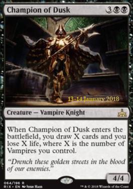 Promotional: Champion of Dusk (Prerelease Foil)