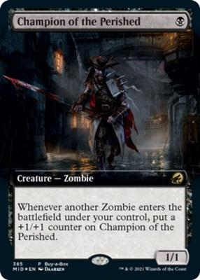 Promotional: Champion of the Perished (Buy-a-Box Foil)