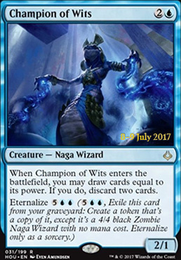 Promotional: Champion of Wits (Prerelease Foil)