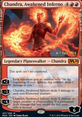 Promotional: Chandra, Awakened Inferno (Prerelease Foil)