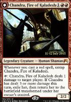 Promotional: Chandra, Fire of Kaladesh (Prerelease Foil)