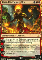 Promotional: Chandra, Flamecaller (Prerelease Foil)