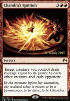 Promotional: Chandra's Ignition (Prerelease Foil)
