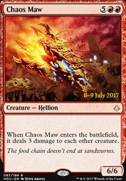 Promotional: Chaos Maw (Prerelease Foil)