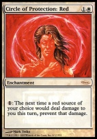 Promotional: Circle of Protection: Red (FNM Foil)