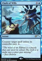 Promotional: Clash of Wills (FNM Foil)