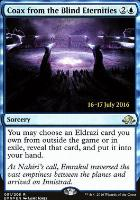 Promotional: Coax from the Blind Eternities (Prerelease Foil)