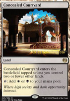 Promotional: Concealed Courtyard (Prerelease Foil)