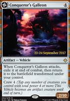 Promotional: Conqueror's Galleon (Prerelease Foil)
