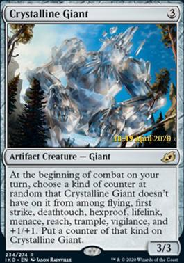 Promotional: Crystalline Giant (Prerelease Foil)