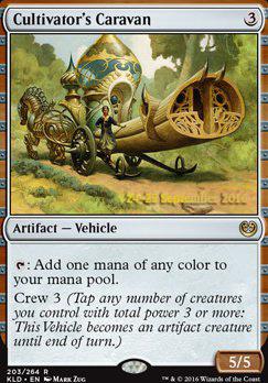 Promotional: Cultivator's Caravan (Prerelease Foil)