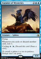 Promotional: Curator of Mysteries (Prerelease Foil)