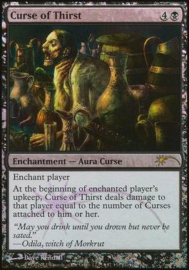 Promotional: Curse of Thirst (WPN Foil)