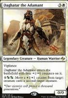 Promotional: Daghatar the Adamant (Prerelease Foil)