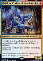 Promotional: Dalakos, Crafter of Wonders (Prerelease Foil)
