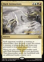 Promotional: Dark Intimations (Prerelease Foil)