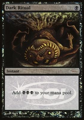 Promotional: Dark Ritual (Judge Foil)