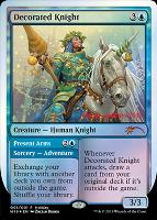 Promotional: Decorated Knight (Holiday Foil)