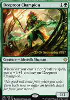 Promotional: Deeproot Champion (Prerelease Foil)