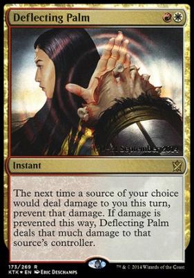 Promotional: Deflecting Palm (Prerelease Foil)